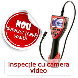 Inspectie conducta cu camera video